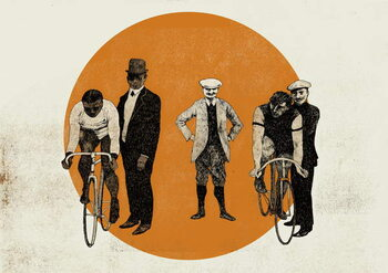 Old Time Trial, 2014 Canvas Print