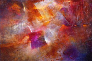 Canvas Print Open fire