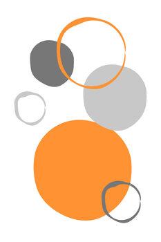 Canvas Print Orange World