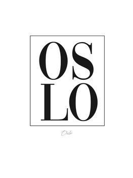 Canvas Print oslo