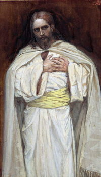 Our Lord Jesus Christ, illustration for 'The Life of Christ', c.1886-94 Canvas Print
