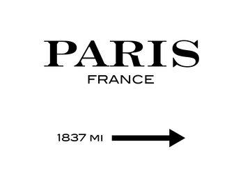 Canvas Print Paris