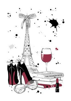 Canvas Print Paris Style