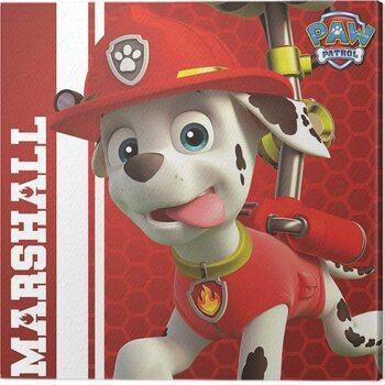 Canvas Print Paw Patrol - Marshall Ready to Rescue