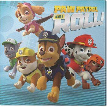 Canvas Print Paw Patrol - On a Roll
