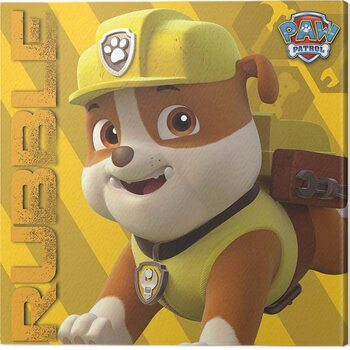 Canvas Print Paw Patrol - Rubble on the Double