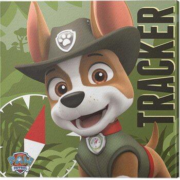 Canvas Print Paw Patrol - Tracker