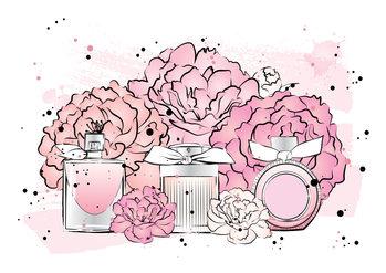 Canvas Print Peony Perfumes2