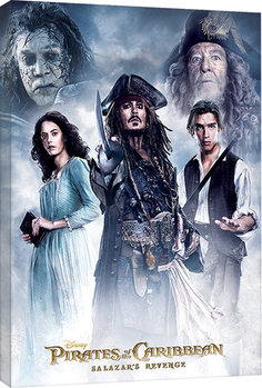 Canvas Print Pirates of the Caribbean - Salazar's Revenge
