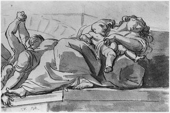 Plague episode Canvas Print