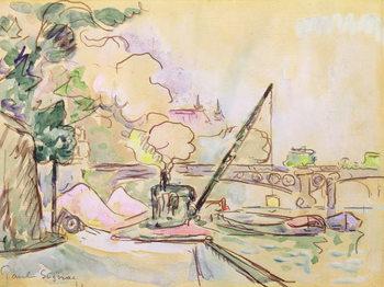 Pont du Louvre, 1928 Canvas Print