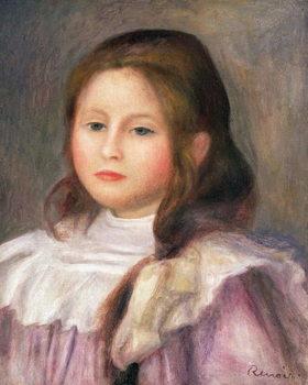 Portrait of a child, c.1910-12 Canvas Print