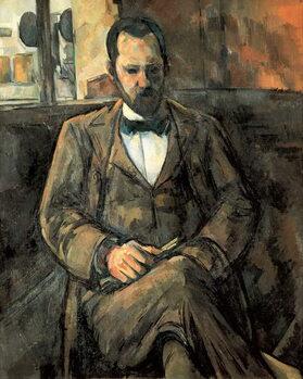 """Canvas Print """"Portrait of Ambroise Vollard (1866-1939) art dealer"""