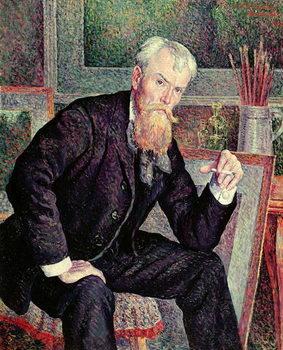 Portrait of Henri Edmond Cross (1856-1910) 1898 (oil on canvas) Canvas Print