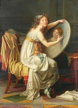 Portrait of Rose Adelaide Ducreux (1761-1802) Canvas Print