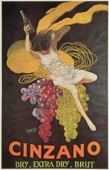 Poster advertising 'Cinzano', 1920 Canvas Print