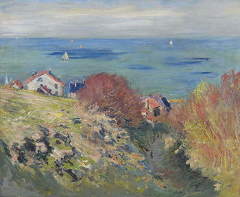 Canvas Print Pourville, 1882