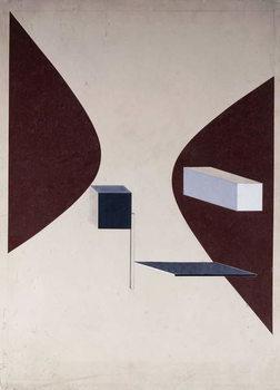 Proun N 90 (Ismenbuch), 1925 Canvas Print