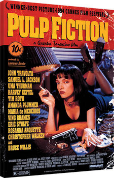 Pulp Fiction - Cover Canvas Print