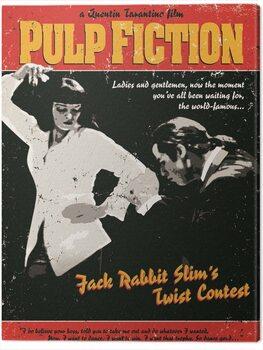Canvas Print Pulp Fiction - Twist Contest
