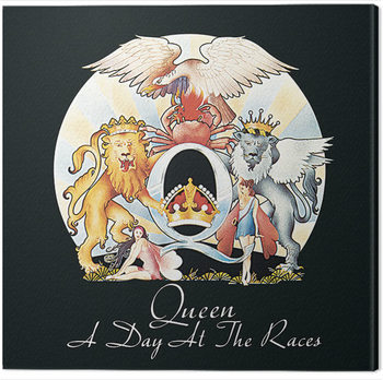 Queen - A Day at the Races Canvas Print