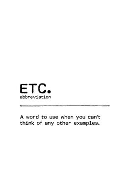 Canvas Print Quote ETC