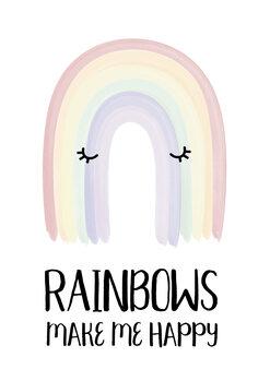 Canvas Print Rainbow