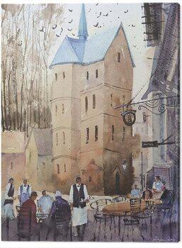 Canvas Print Rajan Dey - Ribe Cathedral, Denmark