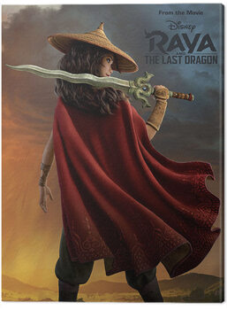 Canvas Print Raya and the Last Dragon - Before the Storm