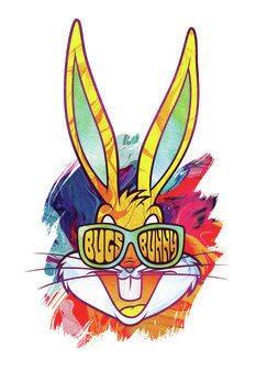 Canvas Print Reggae Bugs Bunny