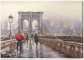Canvas Print Richard Macneil - Brooklyn Bridge