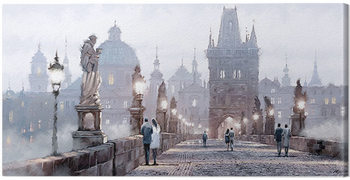 Richard Macneil - Charles Bridge Canvas Print
