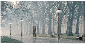 Canvas Print Richard Macneil - Evening Mist 2 cm - 40x30 cm