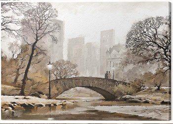 Canvas Print Richard Macneil - Gapstow Bridge