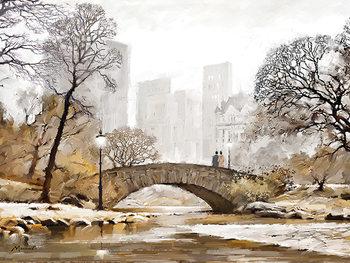 Richard Macneil - Gapstow Bridge Canvas Print