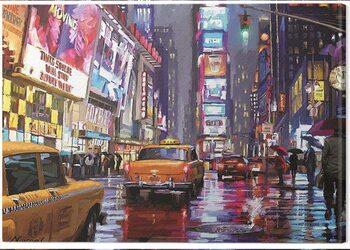 Canvas Print Richard Macneil - Times Square