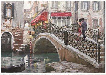 Canvas Print Richard Macneil - Venice Bridge