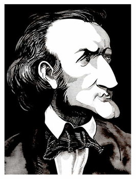Richard Wagner, by Neale Osborne Canvas Print