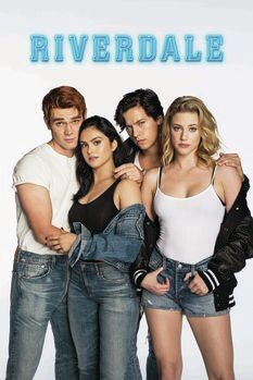 Canvas Print Riverdale - Archie, Jughead, Veronica and Betty