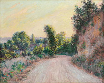 Road; Chemin, 1885 Canvas Print