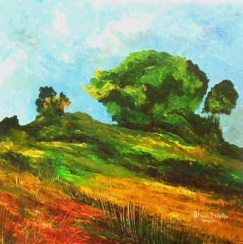 Road to Mayette, 2015 Canvas Print
