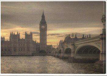 Canvas Print Rod Edwards - Autumn Skies, London, England