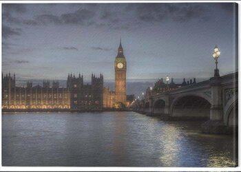 Canvas Print Rod Edwards - Twilight, London, England
