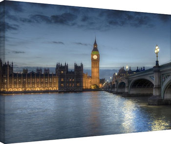 Rod Edwards - Twilight, London, England Canvas Print