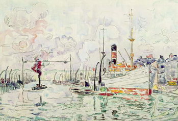Rouen, 1924 Canvas Print