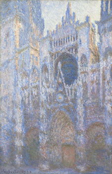 Canvas Print Rouen Cathedral, West facade, 1894