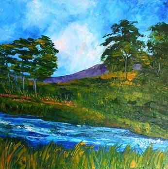Ruisseau pres de Marmelade, 2016 Canvas Print