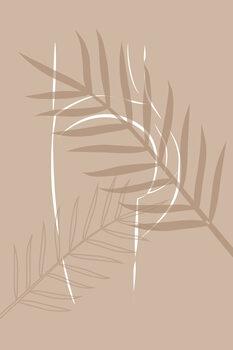 Canvas Print Sahara Butt