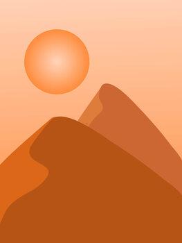 Canvas Print Sahara