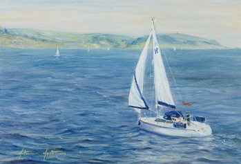 Sailing Home, 1999 Canvas Print